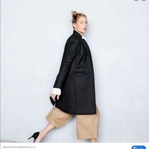 J. Crew Jackets & Coats - NWT jcrew wool 100% regent coat nwt black 00
